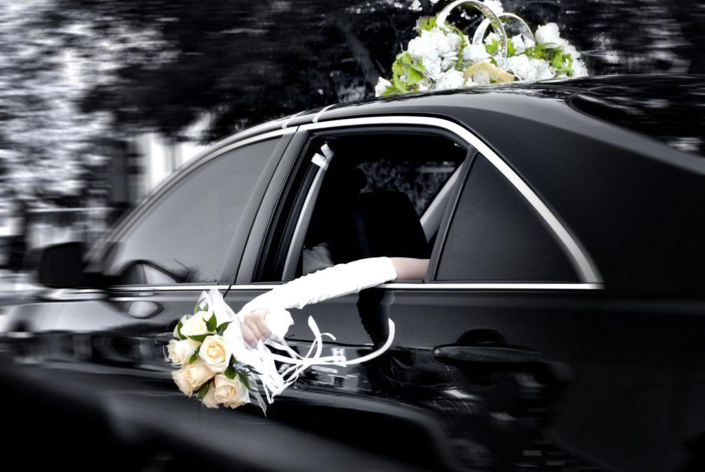 Аренда авто на свадьбу с водителем в Новороссийске
